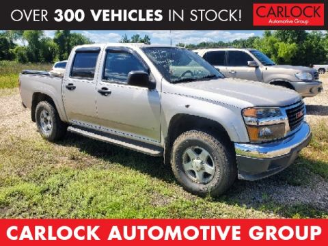 Pre-Owned 2007 GMC Canyon SLE2 4WD 4D Crew Cab