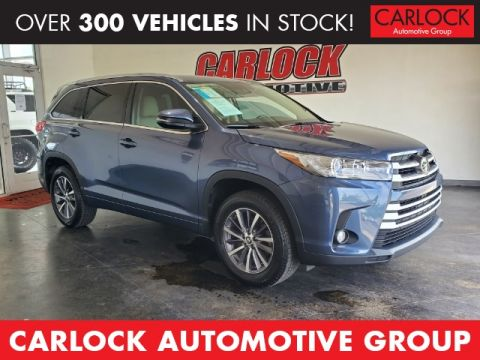 Pre-Owned 2017 Toyota Highlander XLE FWD 4D Sport Utility