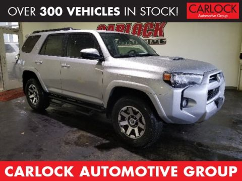New 2020 Toyota 4Runner TRD Off-Road 4WD 4D Sport Utility