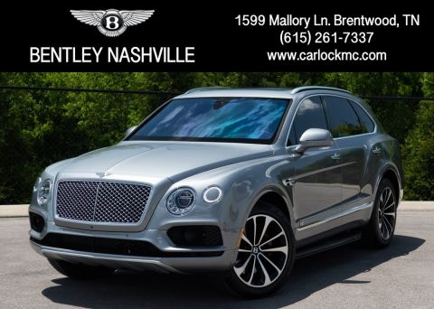 Pre-Owned 2017 Bentley Bentayga W12 AWD 4D Sport Utility